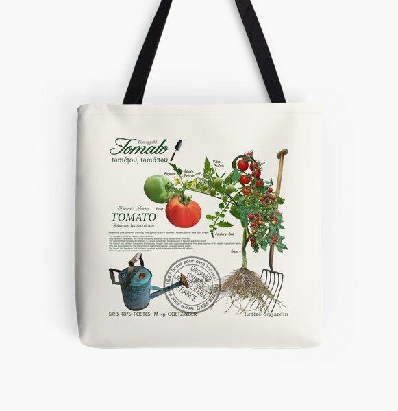 My organic tomato. All Over Print Tote Bag
