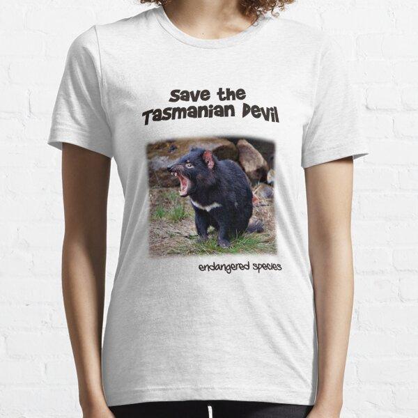 save the Tasmanian Devil Essential T-Shirt