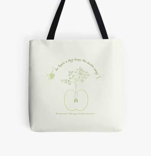 Apple seed. All Over Print Tote Bag