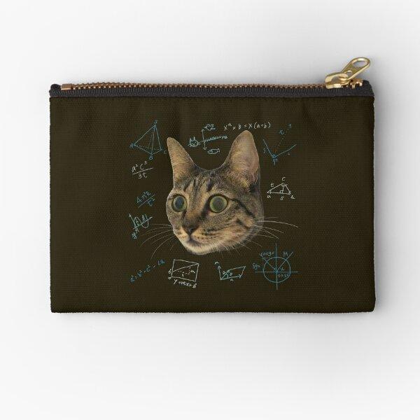 Cat's life is. Zipper Pouch