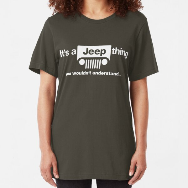 It's a Jeep thing Slim Fit T-Shirt