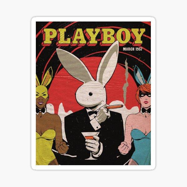 playboy 1957 Pegatina