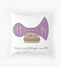 Honker Burger Since 1991 Throw Pillow