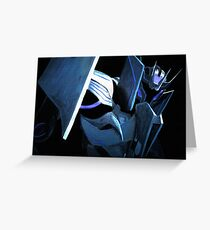 Transformers Prime: Soundwave Greeting Card