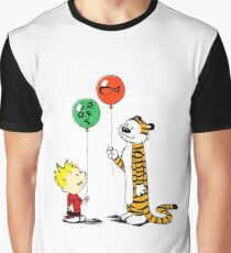 calvin and hobbes ballon Graphic T-Shirt