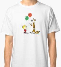 calvin and hobbes ballon Classic T-Shirt