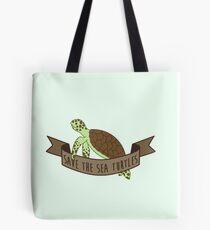 Save the Sea Turtles Tote Bag