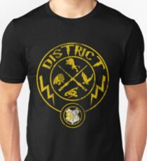 Distressed District 9 3/4 Unisex T-Shirt
