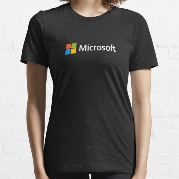 Microsoft Logo Essential T-Shirt