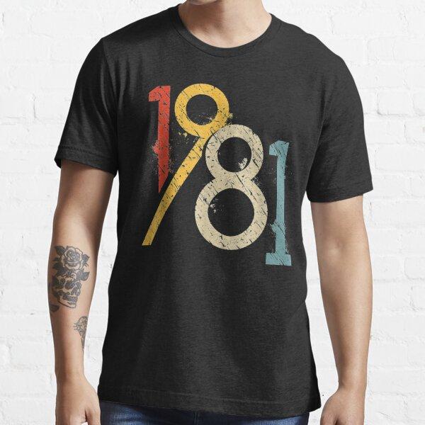 1981 Vintage 40th Birthday Essential T-Shirt