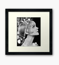 Carey Mulligan - Daisy from The Great Gatsby Framed Print