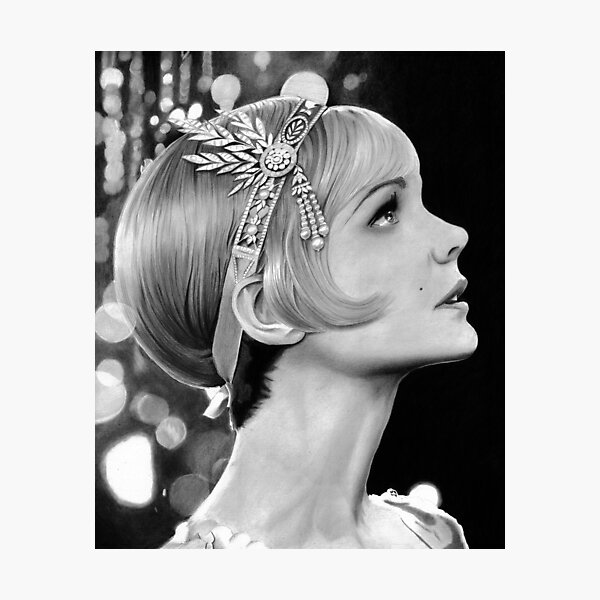 Carey Mulligan - Daisy from The Great Gatsby Photographic Print