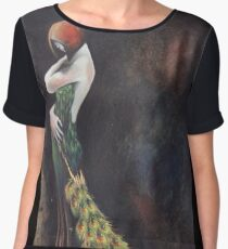 The Woman Women's Chiffon Top