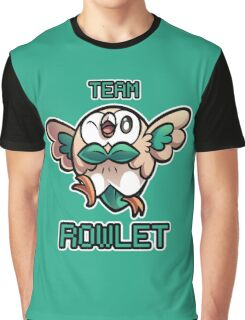 Team Rowlet Graphic T-Shirt