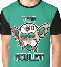 Team Rowlet Graphic T-Shirt