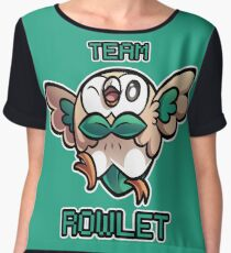 Team Rowlet Chiffon Top