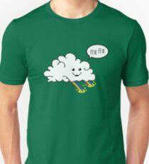 Camiseta ajustada Friendly Cloud: ¿Por qué hay una olla de oro al final de cada arco iris
