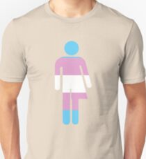 Trans Stick Pride Figure T-Shirt
