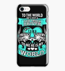 She loves her tow truck driver iPhone Case/Skin