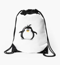 Linux Penguin Drawstring Bag