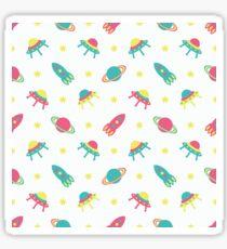 Kids cosmos cute pattern Sticker