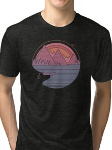 The Mountains Are Calling Tri-blend T-Shirt
