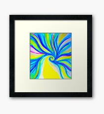 Seed Of Joy (Yellow) Framed Print