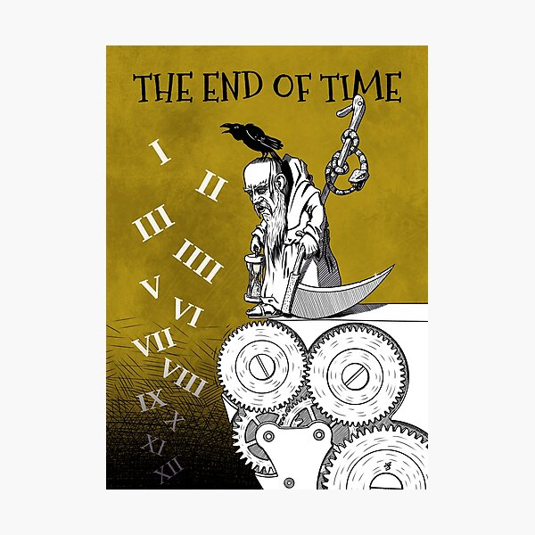 The end of time Photographic Print