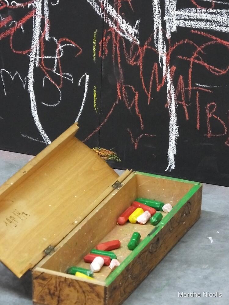 Chalk by Martina Nicolls