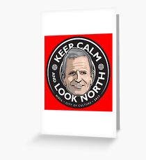Keep Calm with Peter Levy Greeting Card