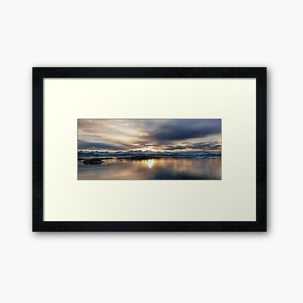 Last Light 23.02.2021 Framed Art Print