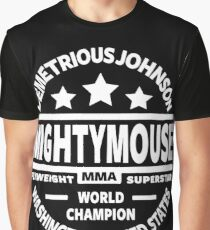"Demetrious ""Mightmouse"" Johnson Graphic T-Shirt"