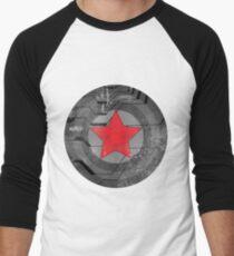 Winter Solider Shield Baseball ¾ Sleeve T-Shirt