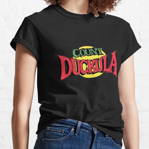 Count Duckula Logo Sticker Classic T-Shirt