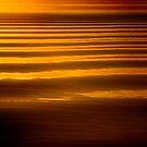 Sunset wave patterns, San Feliciano, Lago Trasimeno, Umbria by Andrew Jones