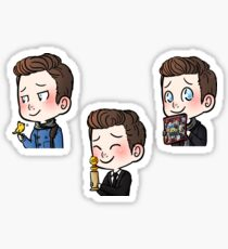 Chris Colfer I. Sticker