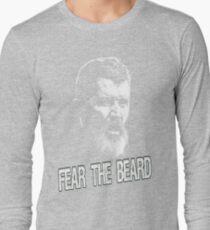 Roy Keane: Fear The Beard Long Sleeve T-Shirt