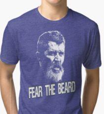 Roy Keane: Fear The Beard Tri-blend T-Shirt