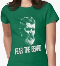 Roy Keane: Fear The Beard Womens Fitted T-Shirt