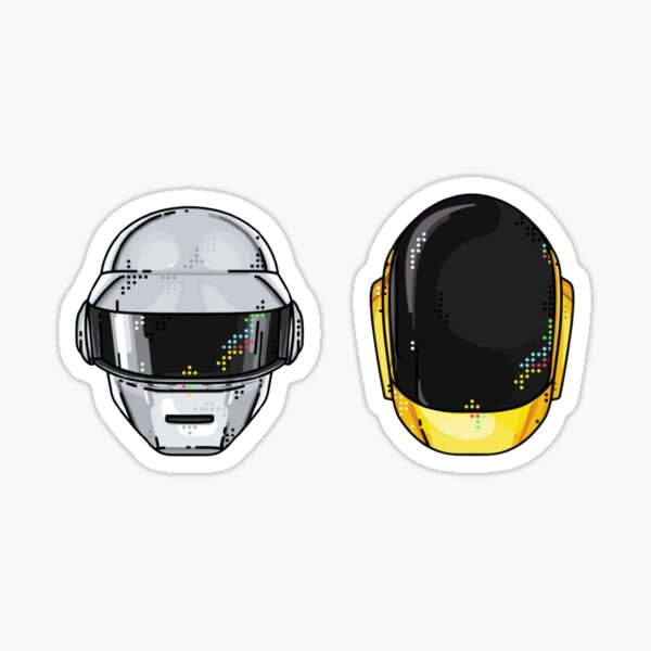 Rip Daft Punk Sticker