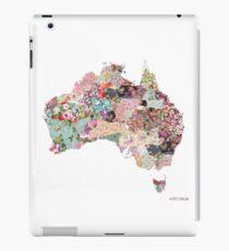 Australia map iPad Case/Skin
