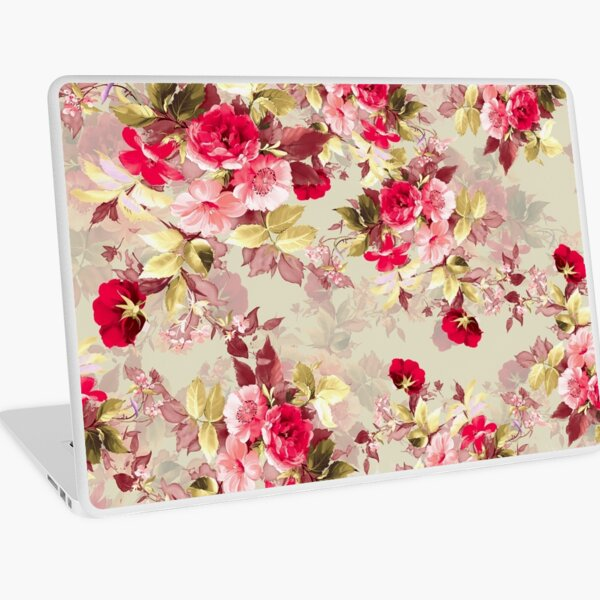 Vintage Roses Laptop Skin