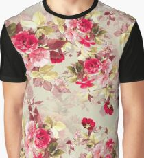 Vintage Roses Graphic T-Shirt