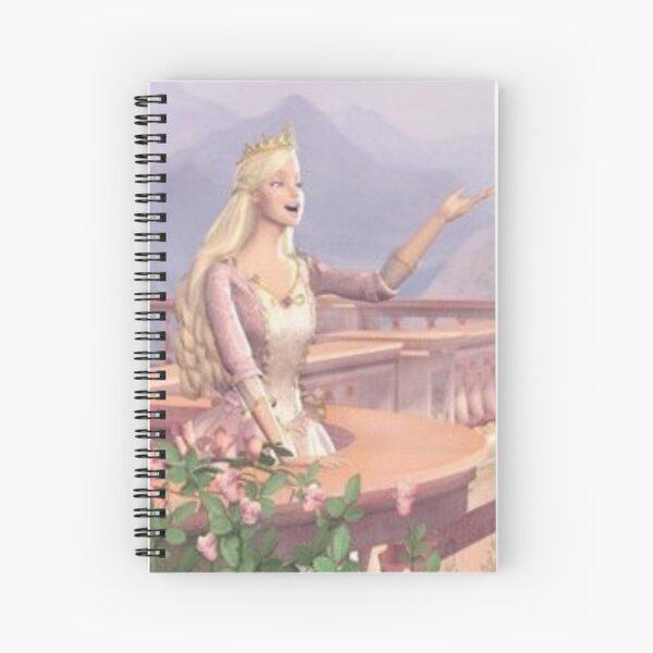 Barbie Anneliese candid  Spiral Notebook