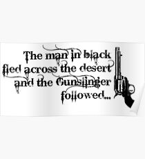 Dark Tower- Gunslinger Poster