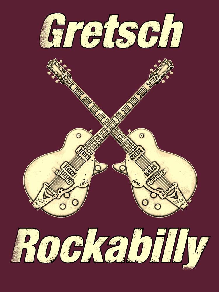 Old Gretsch Rockabilly by plidner