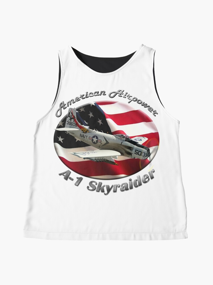 Alternate view of A-1 Skyraider American Airpower Sleeveless Top
