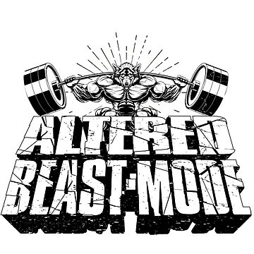 Altered Beast Mode by ronin47design