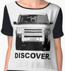 Land Rover Discovery  Chiffon Top