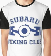Subaru Boxing Club Graphic T-Shirt